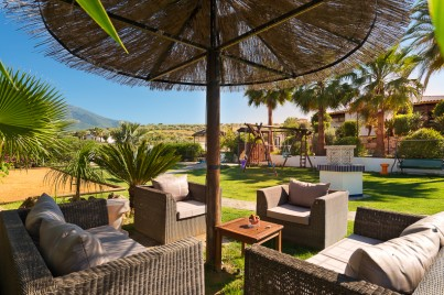 loungetuin andalusie